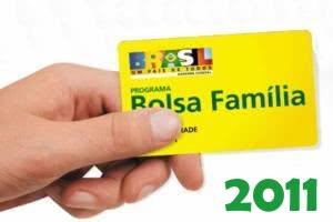 calendario bolsa familia 2011 Bolsa Família Calendário 2012