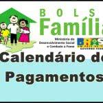 Calendário de Pagamento Bolsa Família 2016