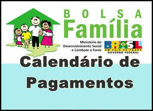bolsa familia calendario de pagamentos Calendário de Pagamento Bolsa Família 2014
