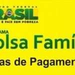 Bolsa Família Dias de Pagamento
