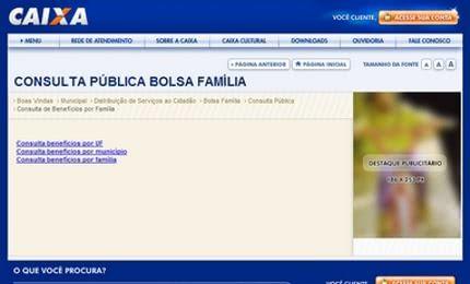 Bolsa Família Consulta Pública pelo CPF