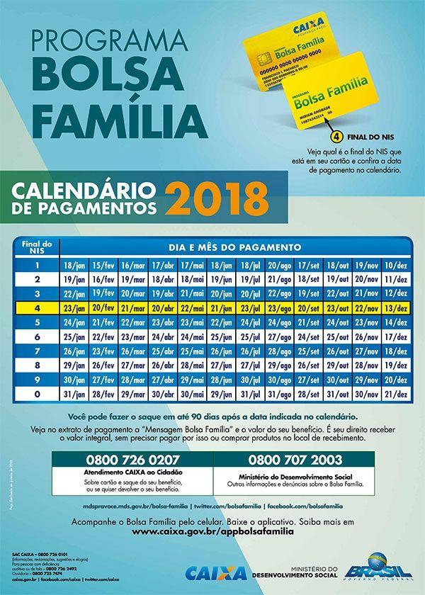 calendario-bolsa-familia-2018 2019